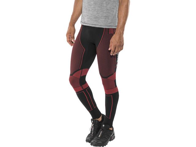 X-Bionic Effektor Power Running Pants Long Herre black/red